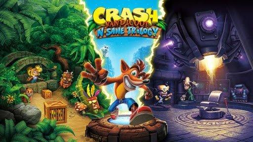 لعبة Crash Bandicoot N. Sane Trilogy